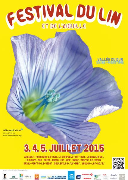 Affiche festival lin 2015