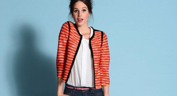 Veste tricotée