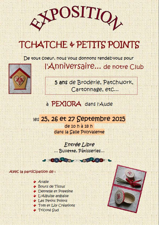 Affiche expo club 2015