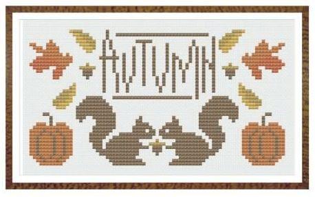 Autumn grille