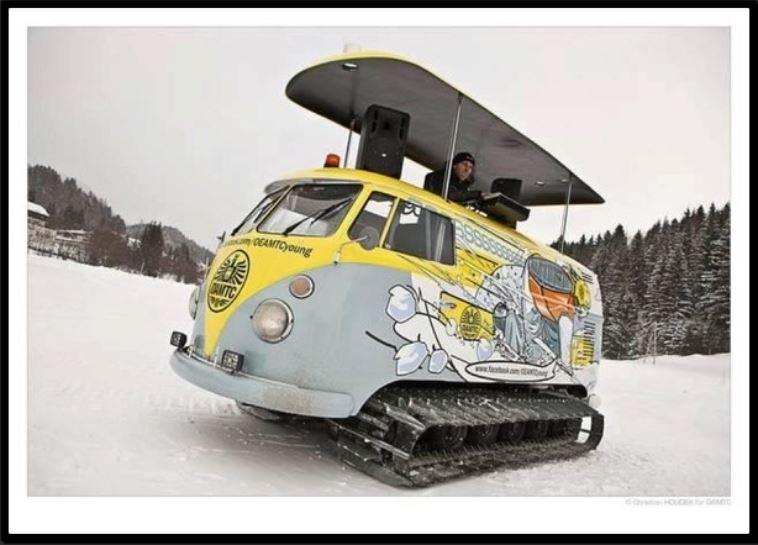 Humour DJ des neiges
