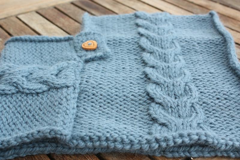 Aujourd hui on tricote la passion au bout des doigts le nouveau blog la passion au bout - Explication pour tricoter un poncho femme ...