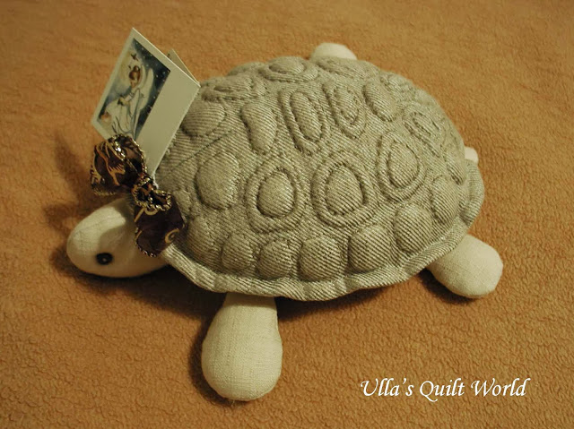 Trapunto turtle