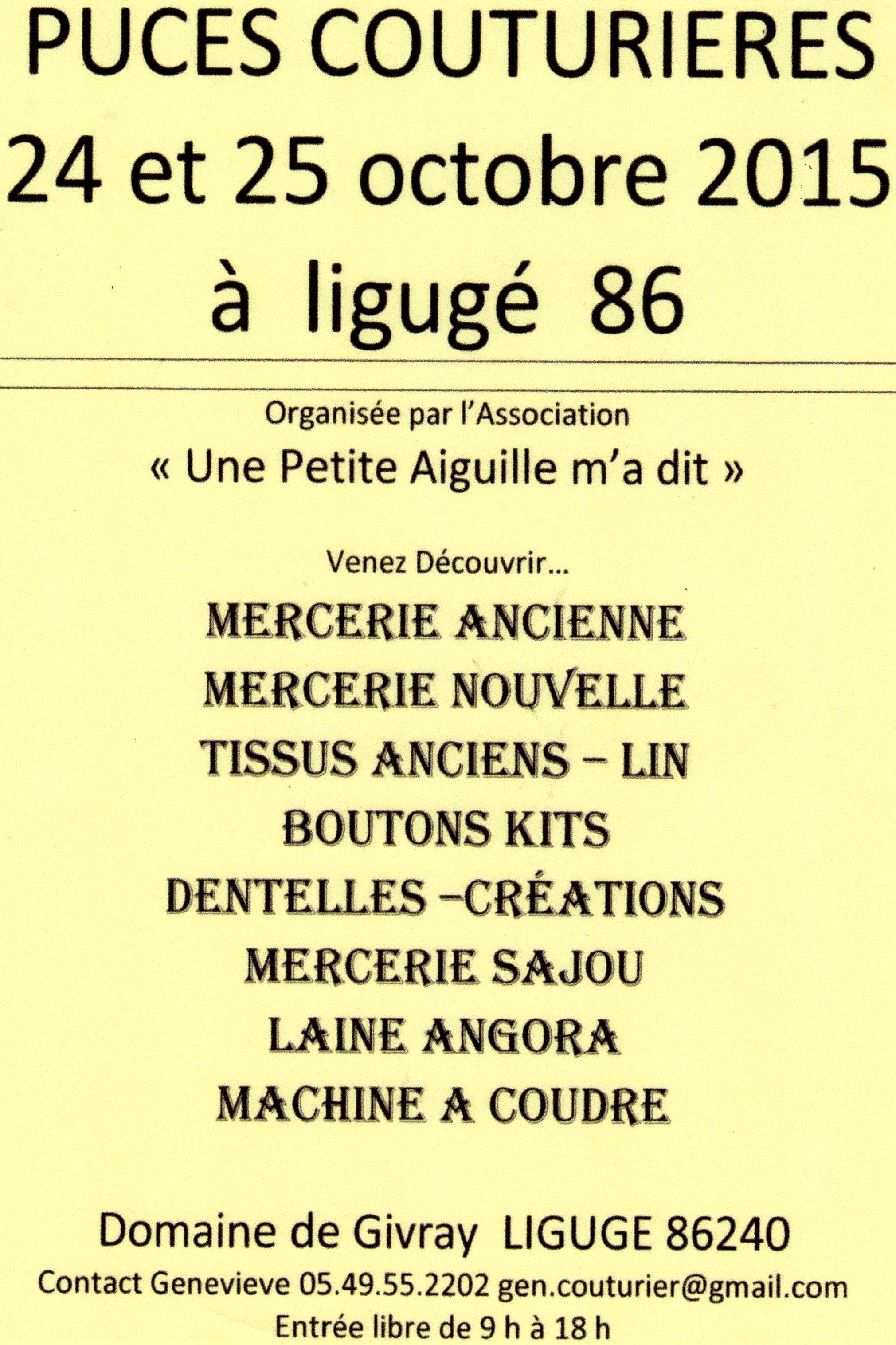 Affiche Liguge 86