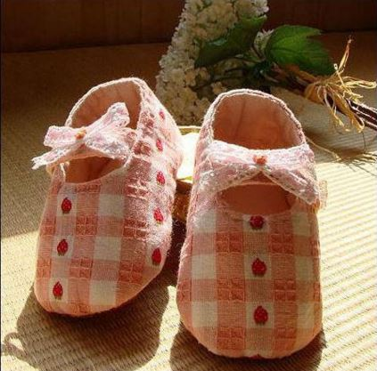 Chaussons roses
