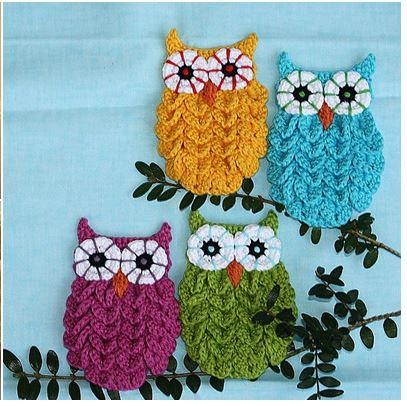 Chouettes crochet