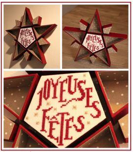 DMC cartonnage Noël