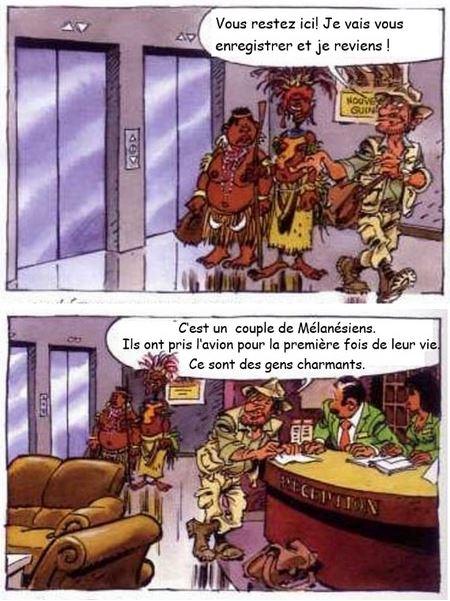Humour Mélanésiens 1