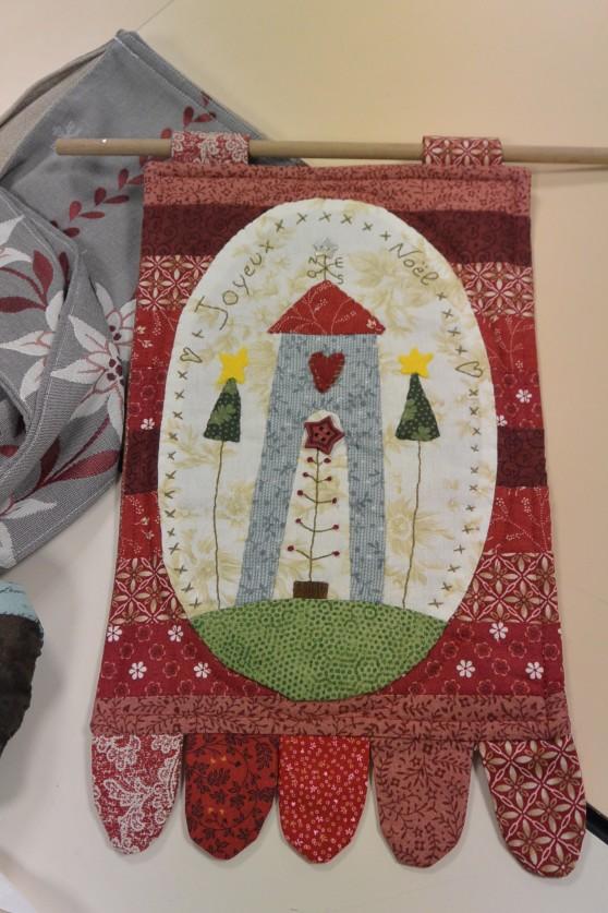 Mini quilt Noël