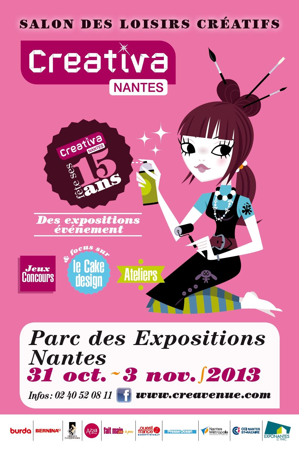 affiche Créativa Nantes