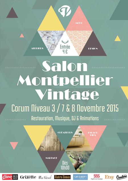 Affiche Montpellier 34