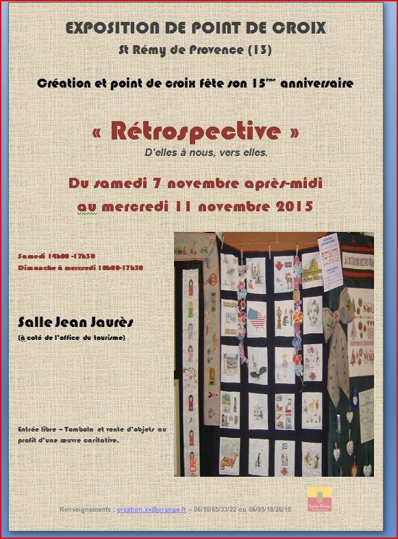 Affiche St Rémy de Provence 13