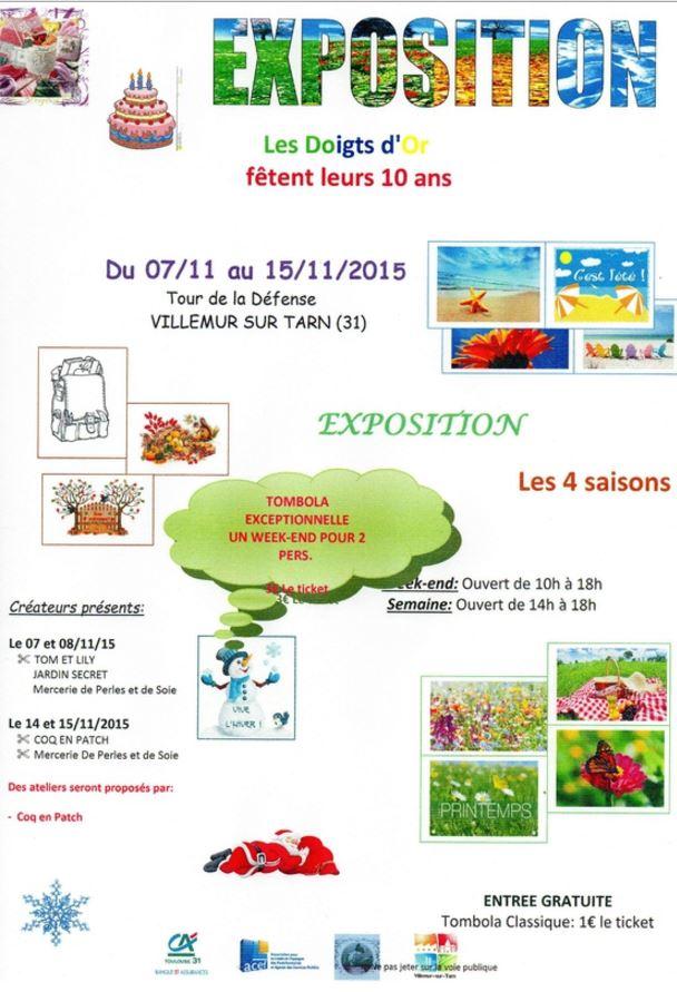Affiche Villemur sur Tarn 81