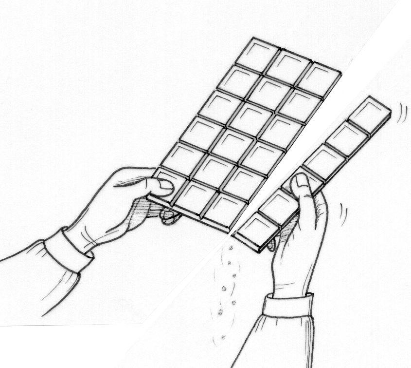 Un samedaille en noir | La passion au bout des doigts, le ... - Dessin Tablette De Chocolat