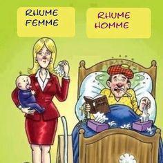 Humour rhume