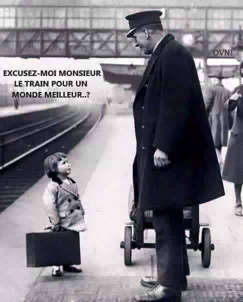 Photo Le train pour ....