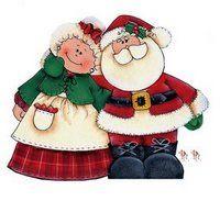 Couple de Noël gif