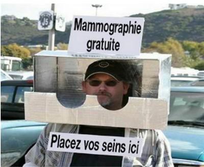 Humour mamographie