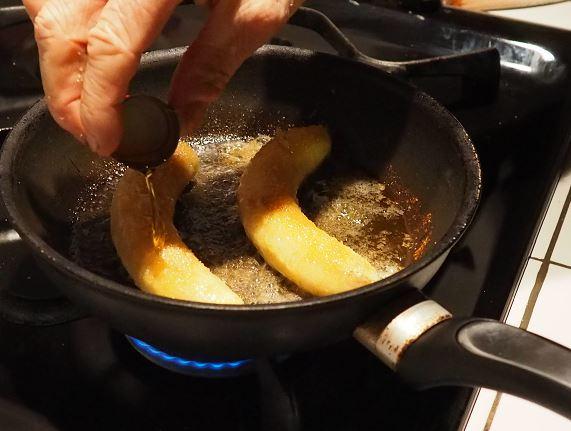 Bananes flambées 4