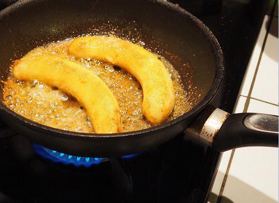 Bananes flambées 5
