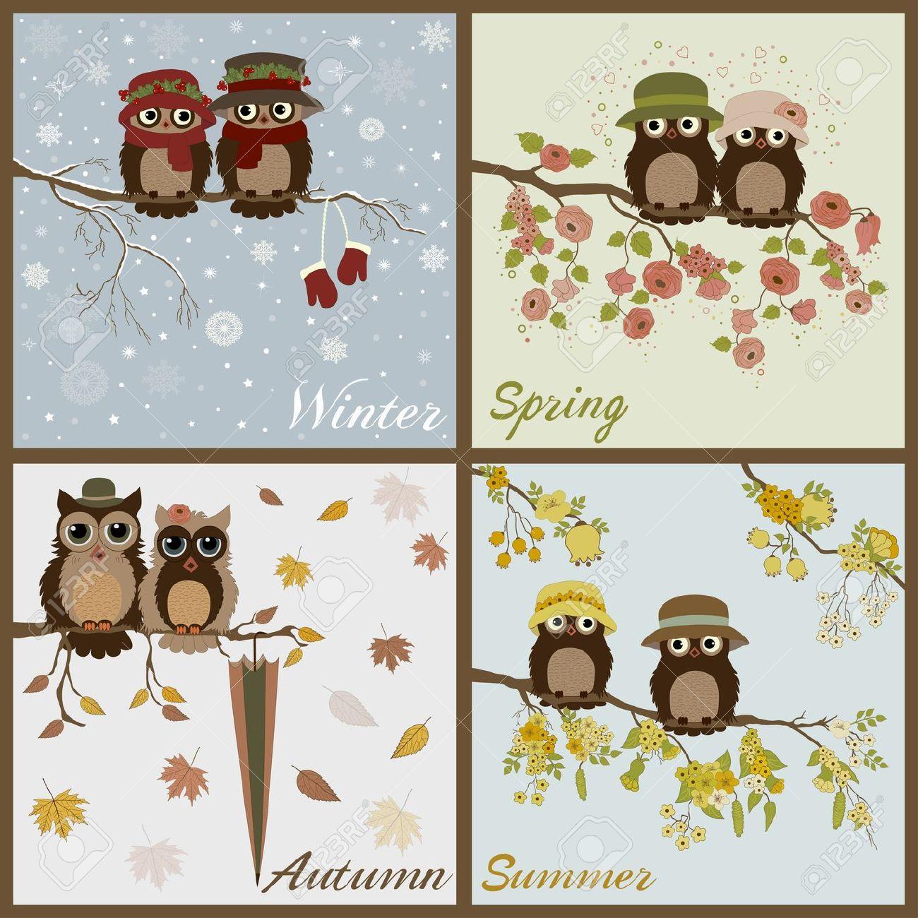 Hiboux 4 saisons