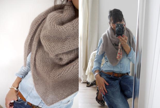 De tout un peu je tricote la passion au bout des doigts le nouveau blog - Broderie sur tricot point mousse ...