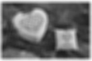 Coeur floutté