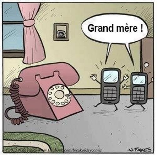 Humour téléphone