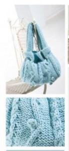 Sac tricoté