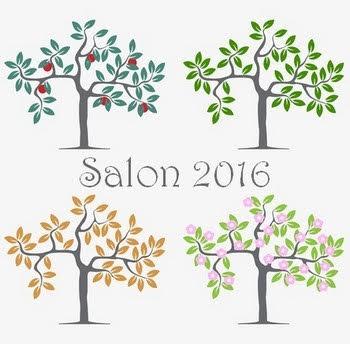 4 saisons arbres gif