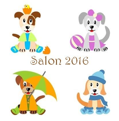 4 saisons chiens gif