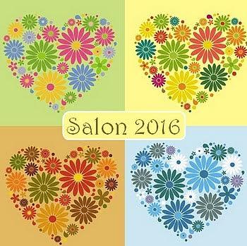 4 saisons coeurs fleuris gif