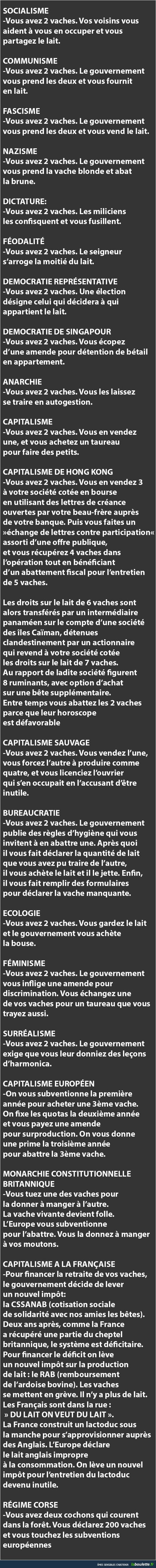 Humour 2 vaches