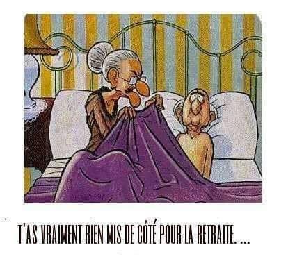Humour La retraite ....