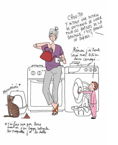 Humour le travail féminin
