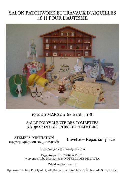 affiche  38- Si Georges de Caummiers
