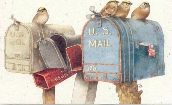 Boites à lettre USA gif