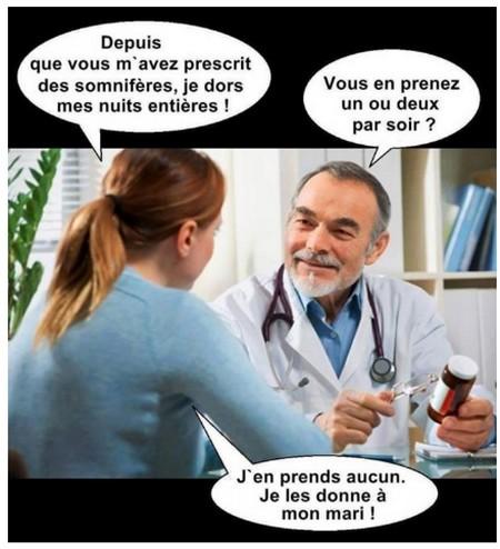 Humour médicaments