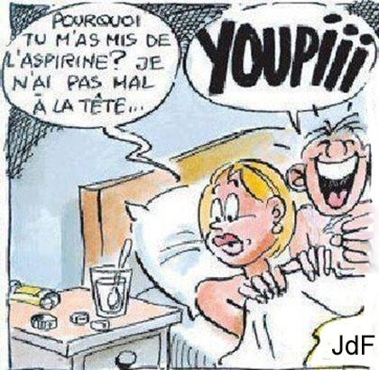 Humour migraine