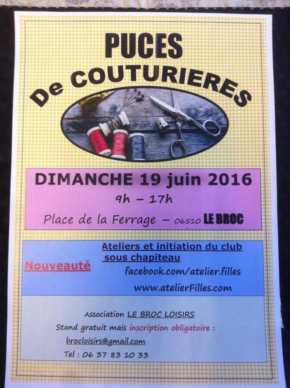 Affiche  Le Broc 06