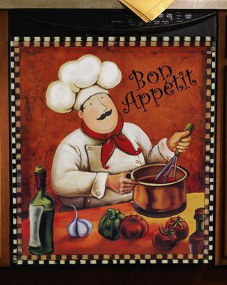 Bon appétit cuisinier gif