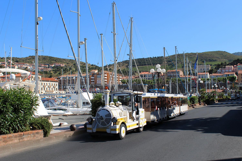Collioure train Port Vendre