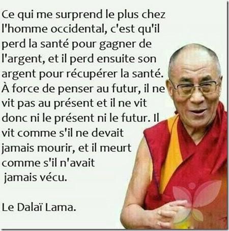 Humour Dalaï Lama