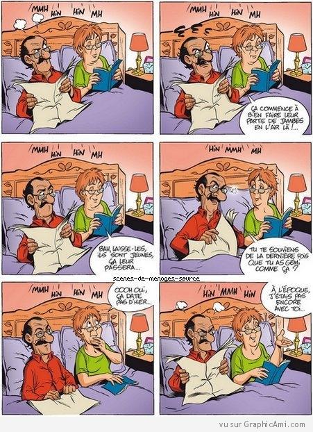 Humour Vieux couple
