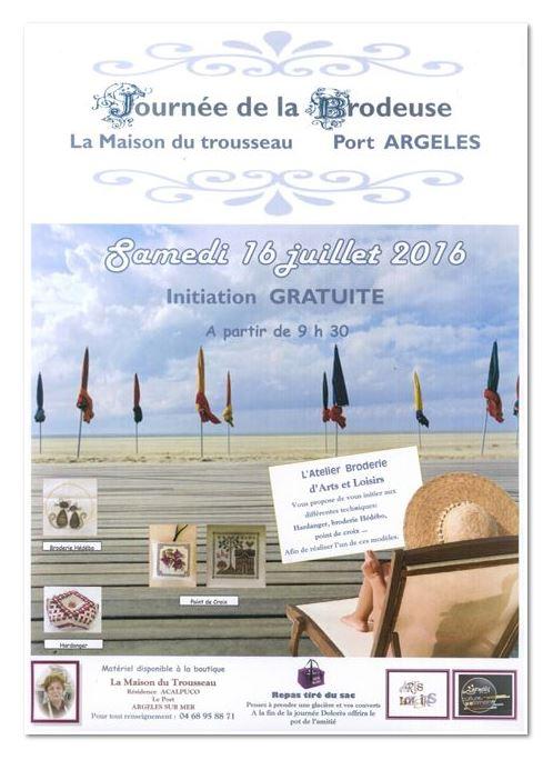 Affiche Argelès 66