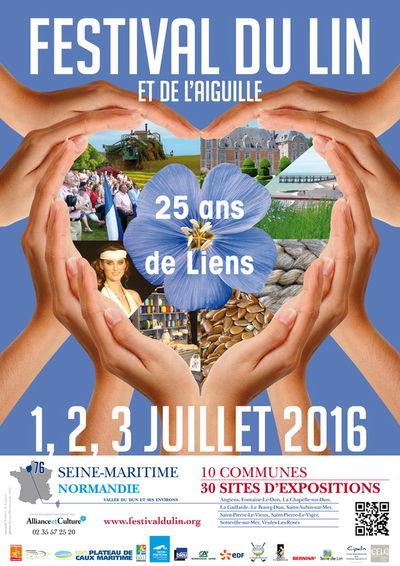 Affiche FESTIVAL du Lin 2016-76