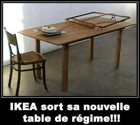 Humour Table de régime
