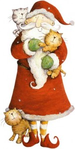 chats-et-pere-noel-gif