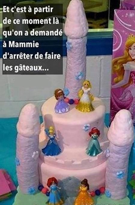 Humour Gâteau mamie