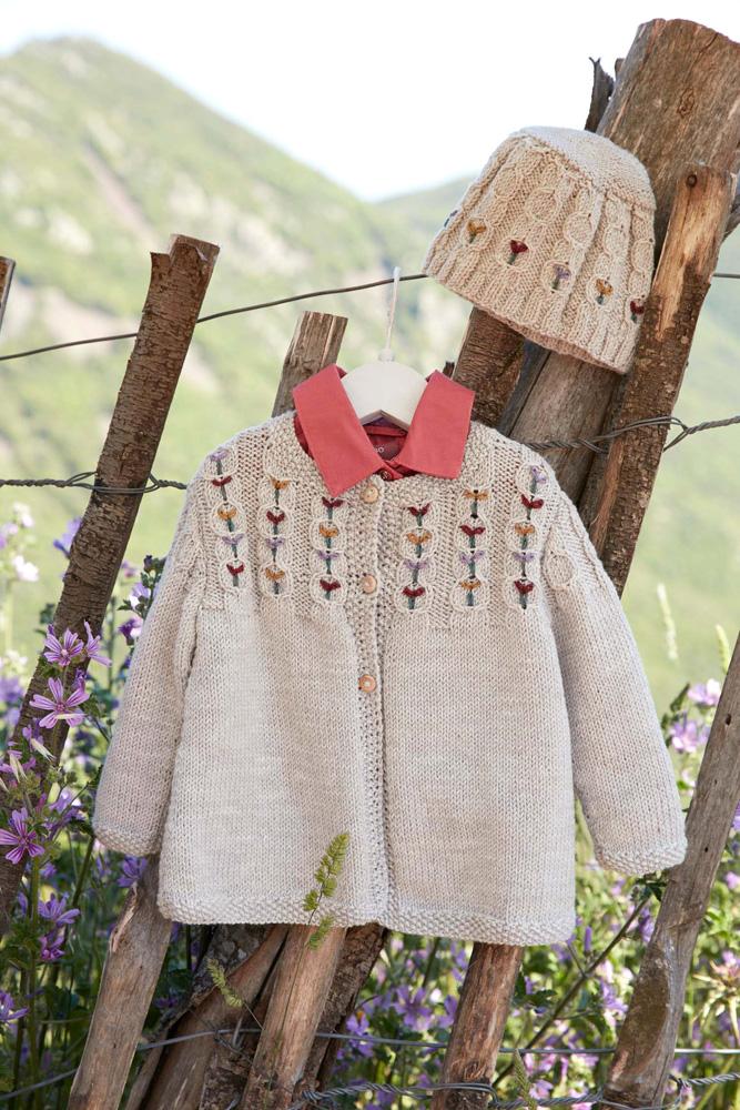 Tuto-DMC-ensemble-fillette-laine-Woolly-HERITAGE